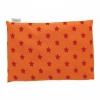 """Traubenkernkissen 22x32cm """"Sterne Orange"""""""